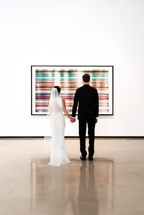 Chelsea art gallery wedding