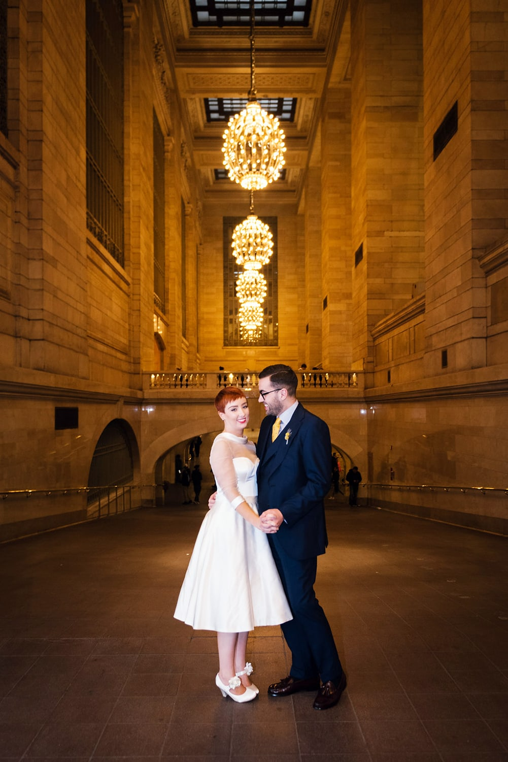 Vintage New York wedding