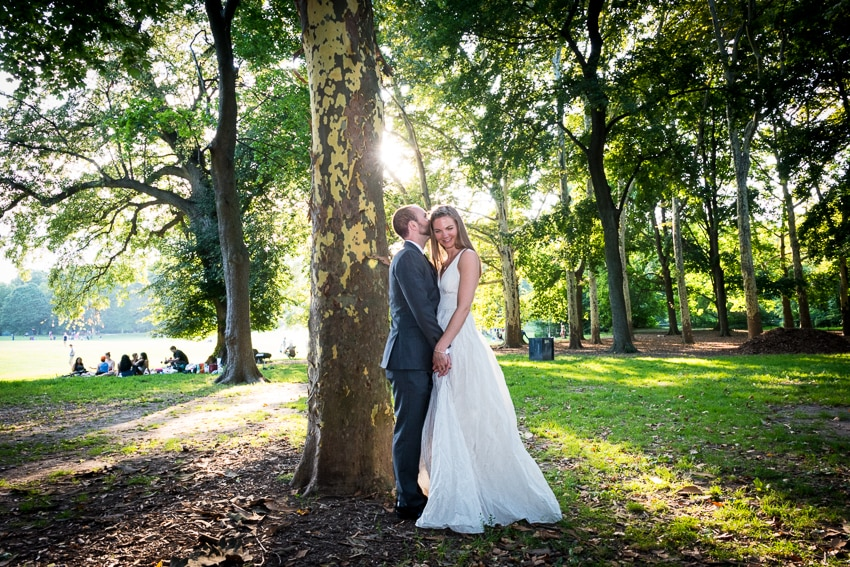Prospect Park Boathouse wedding. Photos by New York wedding photographer Everly Studios, www.everlystudios.com