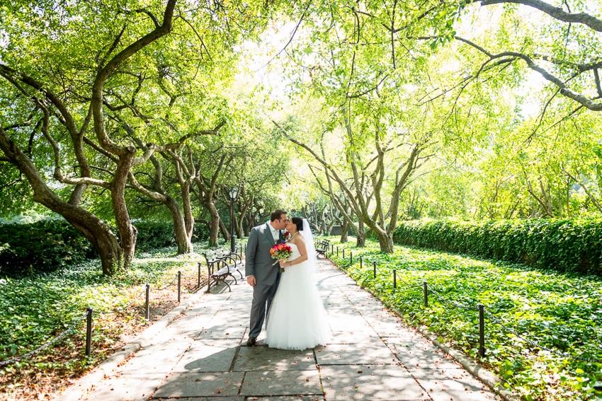 Central Park Conservatory Wedding Photography New York Wedding