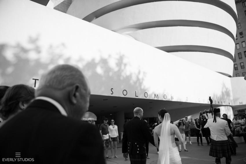 wedding march down Fifth Avenue