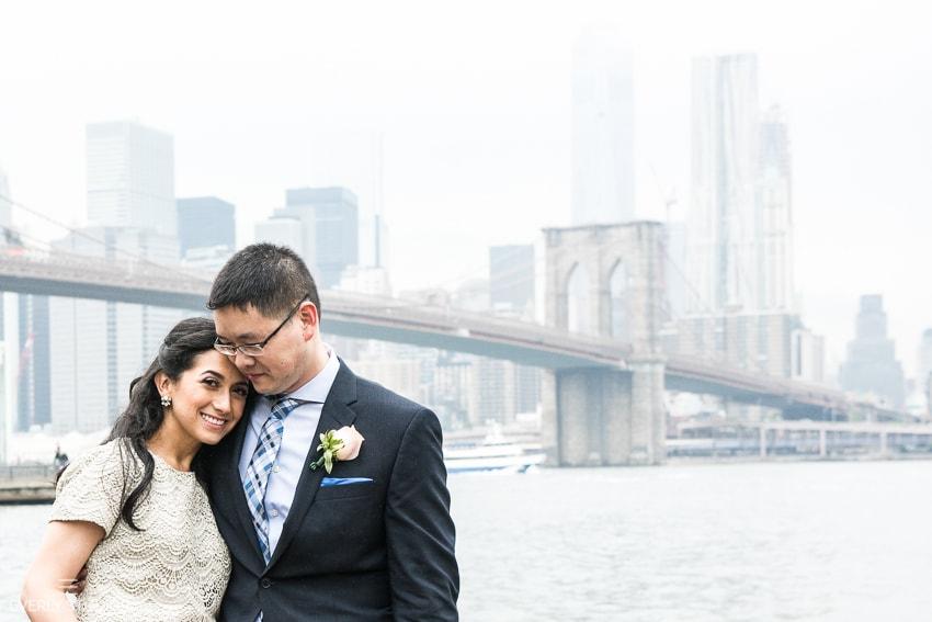 Brooklyn Bridge Park wedding photographer