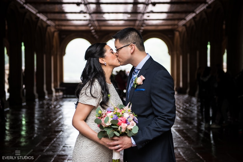 Central Park New York wedding photos