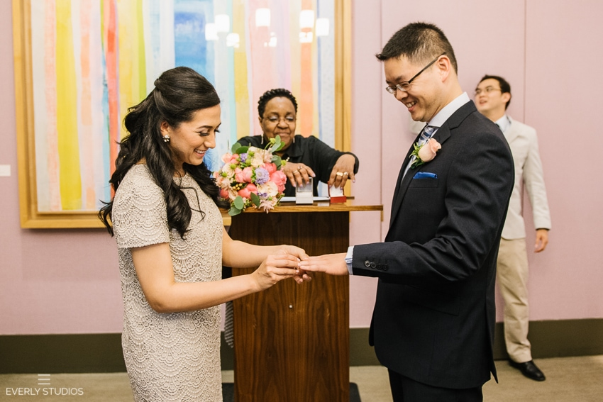 New York City Hall wedding photos