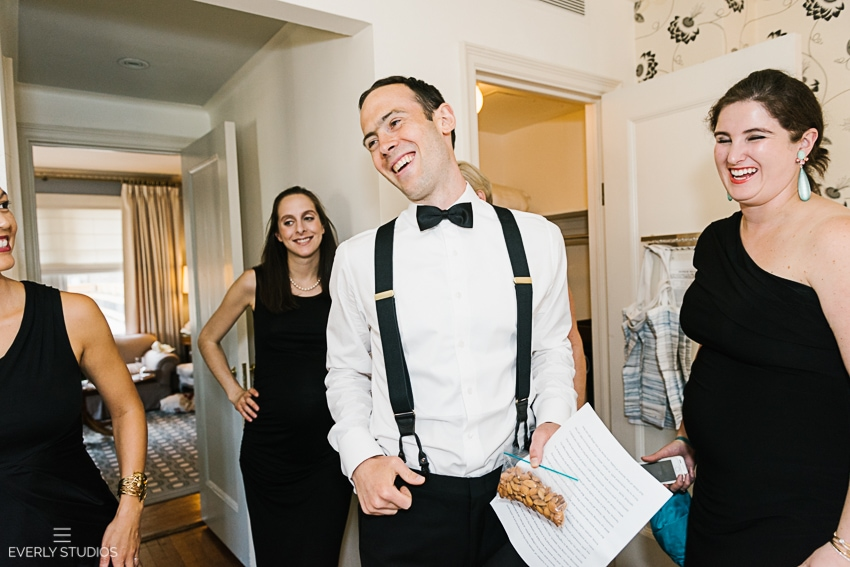 New York wedding prep at Carlyle Hotel
