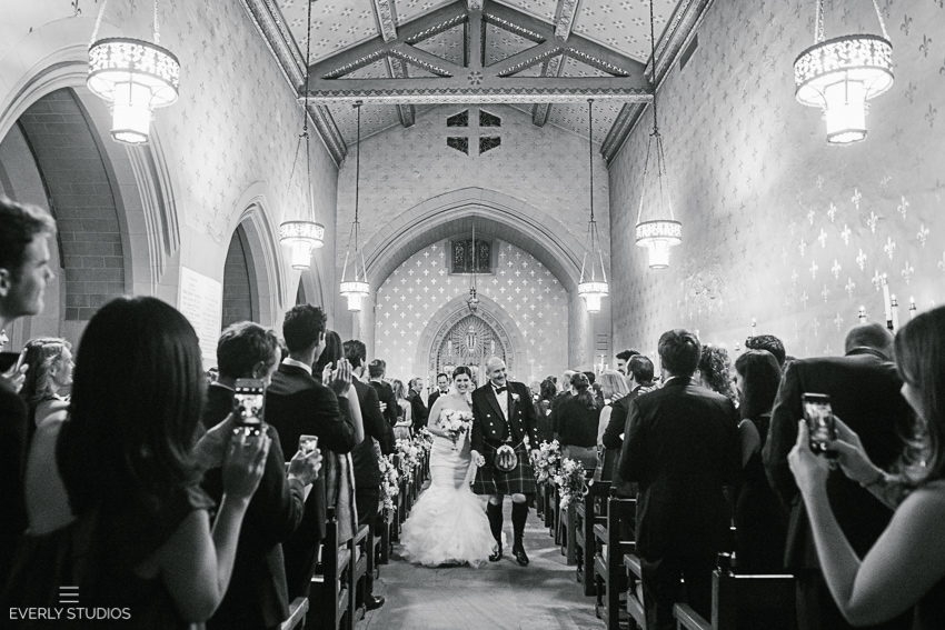 Church of the Heavenly Rest wedding ceremony