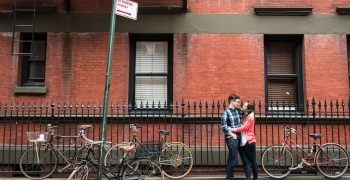 West Village engagement photos in New York
