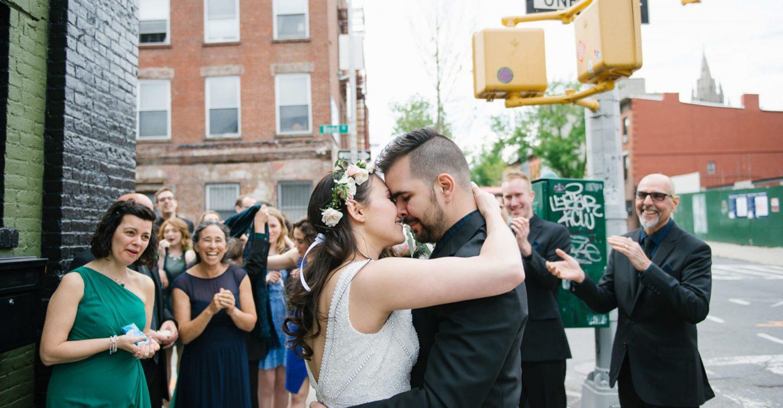 Green Building wedding in Brooklyn, New York