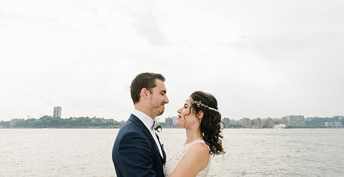 Sunset Terrace wedding at Chelsea Piers