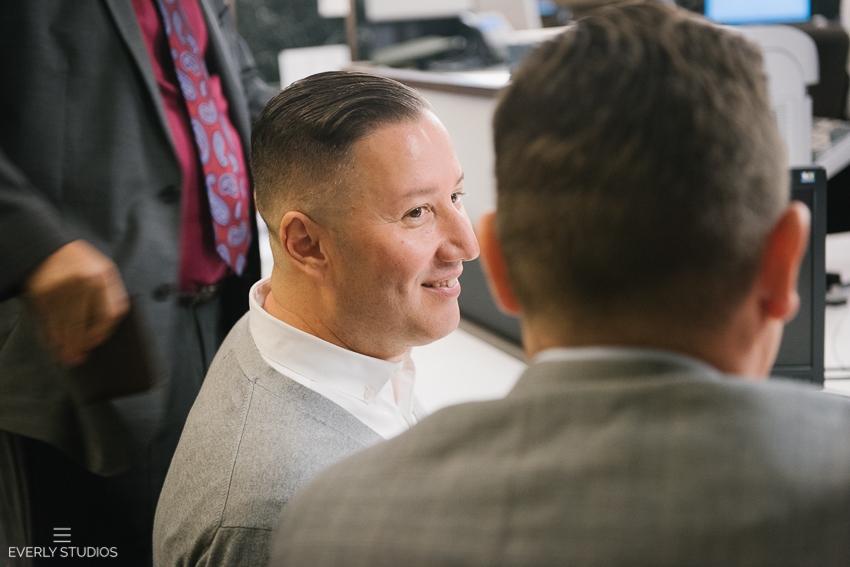 Chad and John's gay New York City Hall wedding. Photos by gay New York wedding photographer www.everlystudios.com