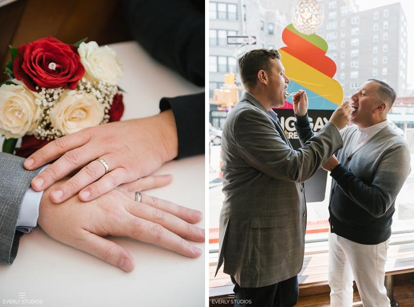 Chad and John's gay New York wedding. Photos by gay wedding photographer NYC www.everlystudios.com