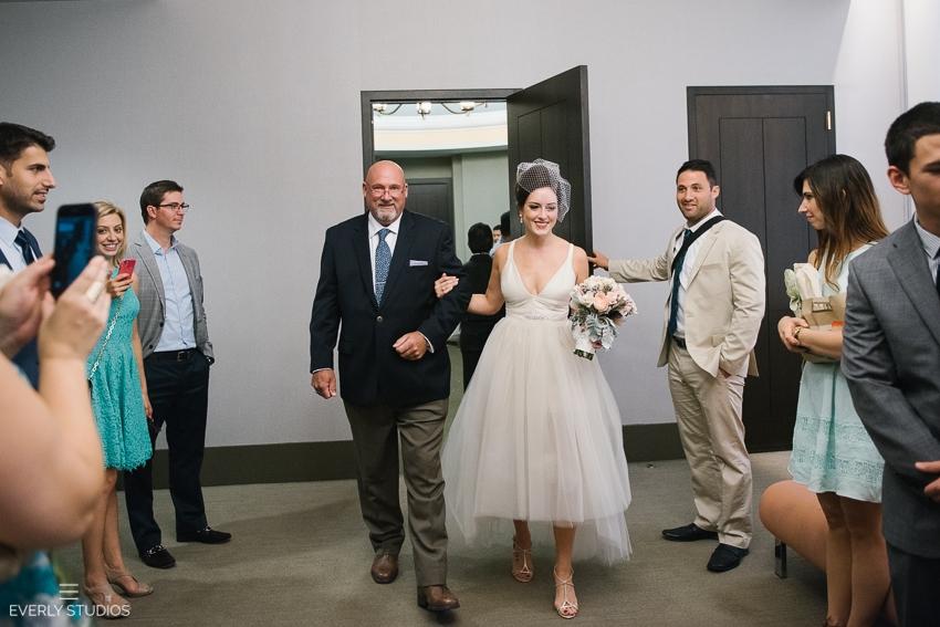New York City Hall wedding. Photos by New York wedding photographer www.everlystudios.com