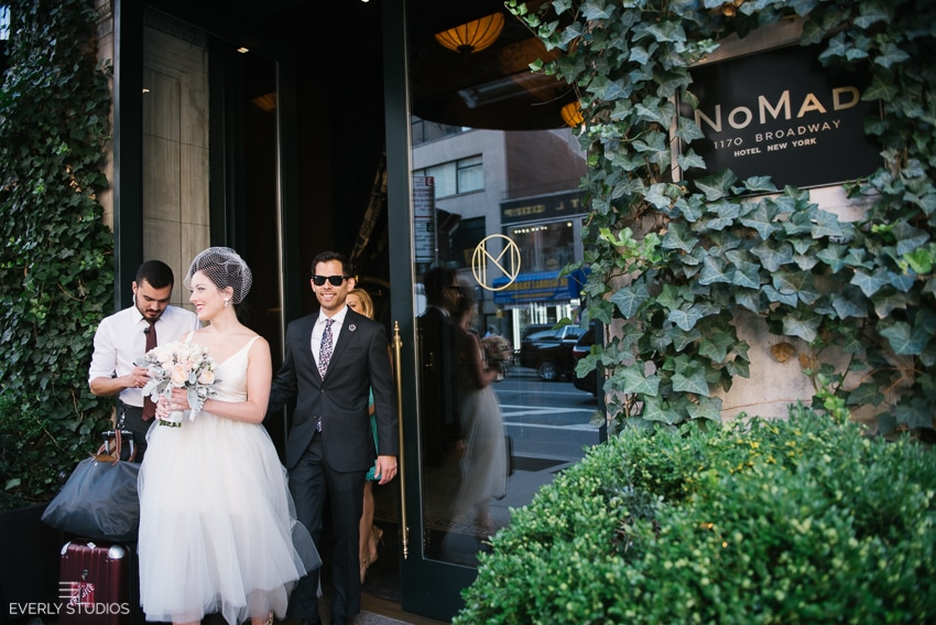 The Nomad Hotel Wedding in New York. Photos by www.everlystudios.com