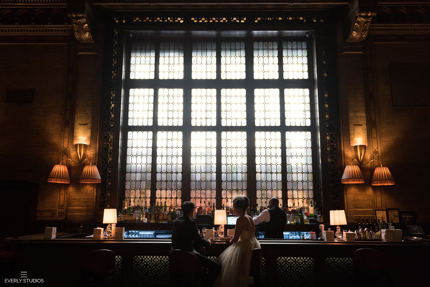 Vintage New York elopement wedding