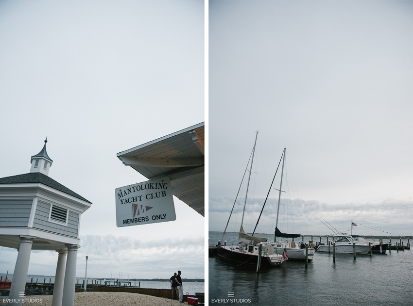 Mantoloking Yacht Club wedding