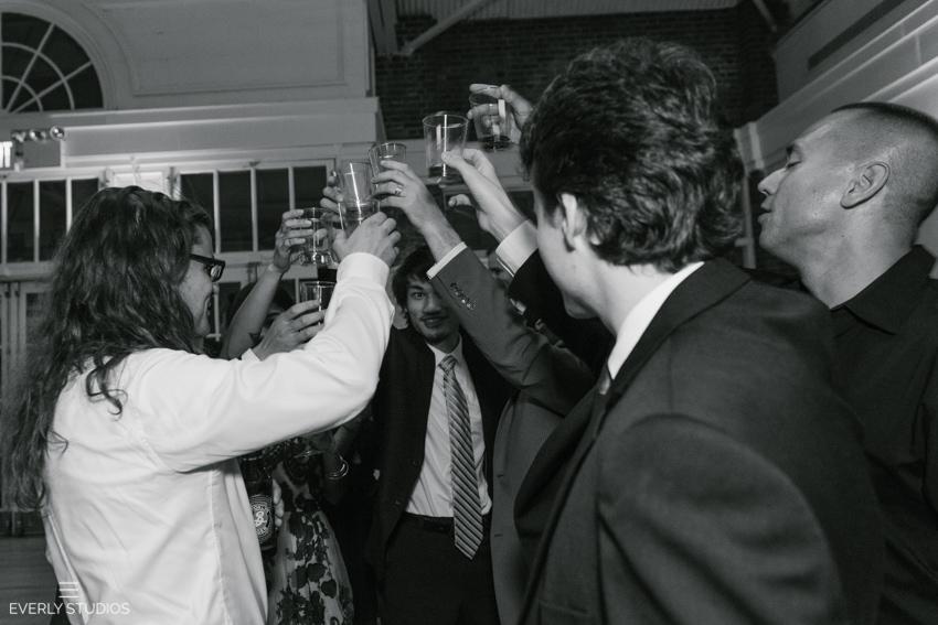 Halloween wedding in New York. Photo by Brooklyn wedding photographer Everly Studios, www.everlystudios.com