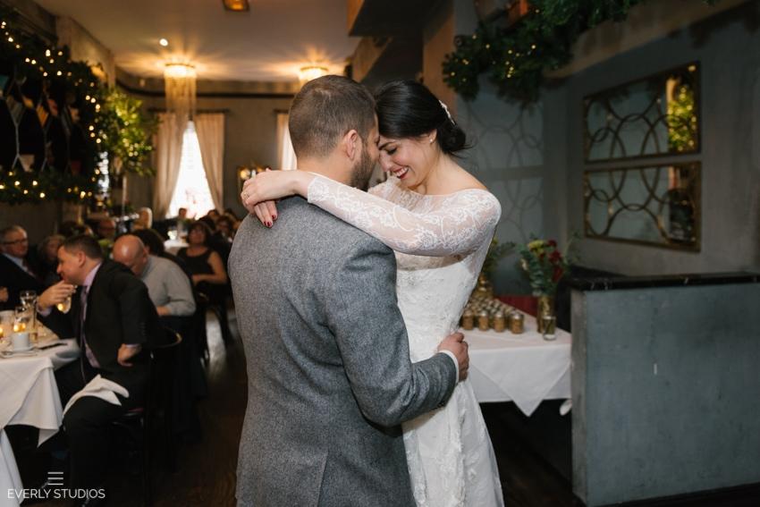 Bobo Wedding New York. Colin and Michelle's wedding reception at Bobo restaurant in New York.
