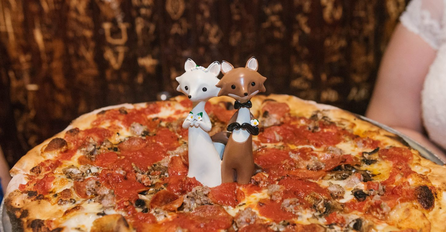 pizza party wedding in NYC