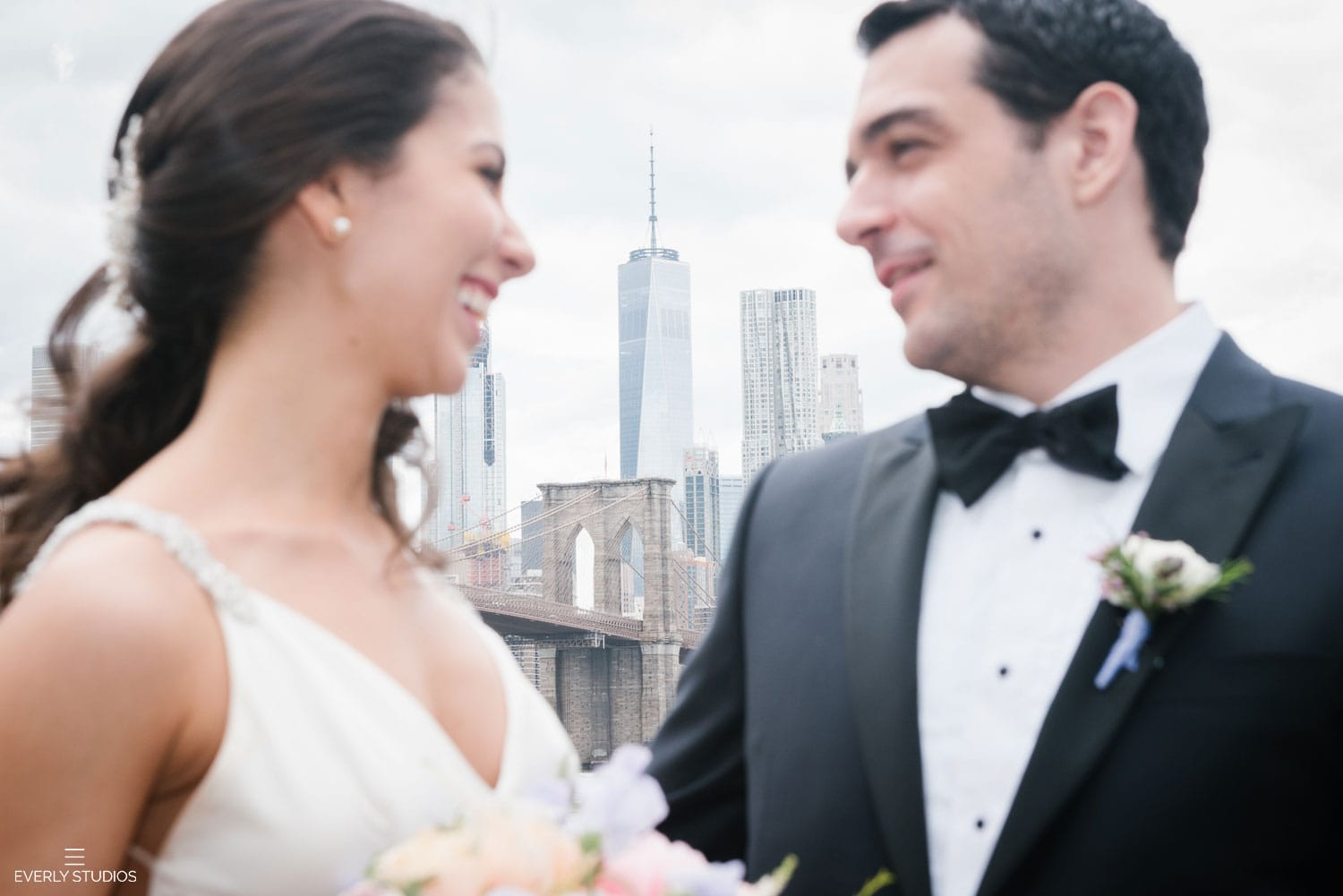 Brooklyn Bridge Park wedding photos