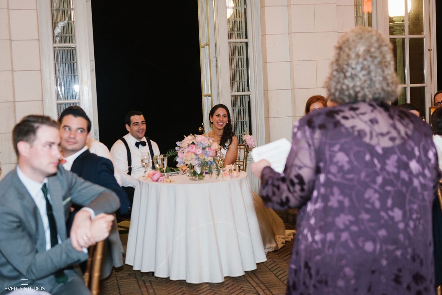 Prospect Park Boathouse wedding reception