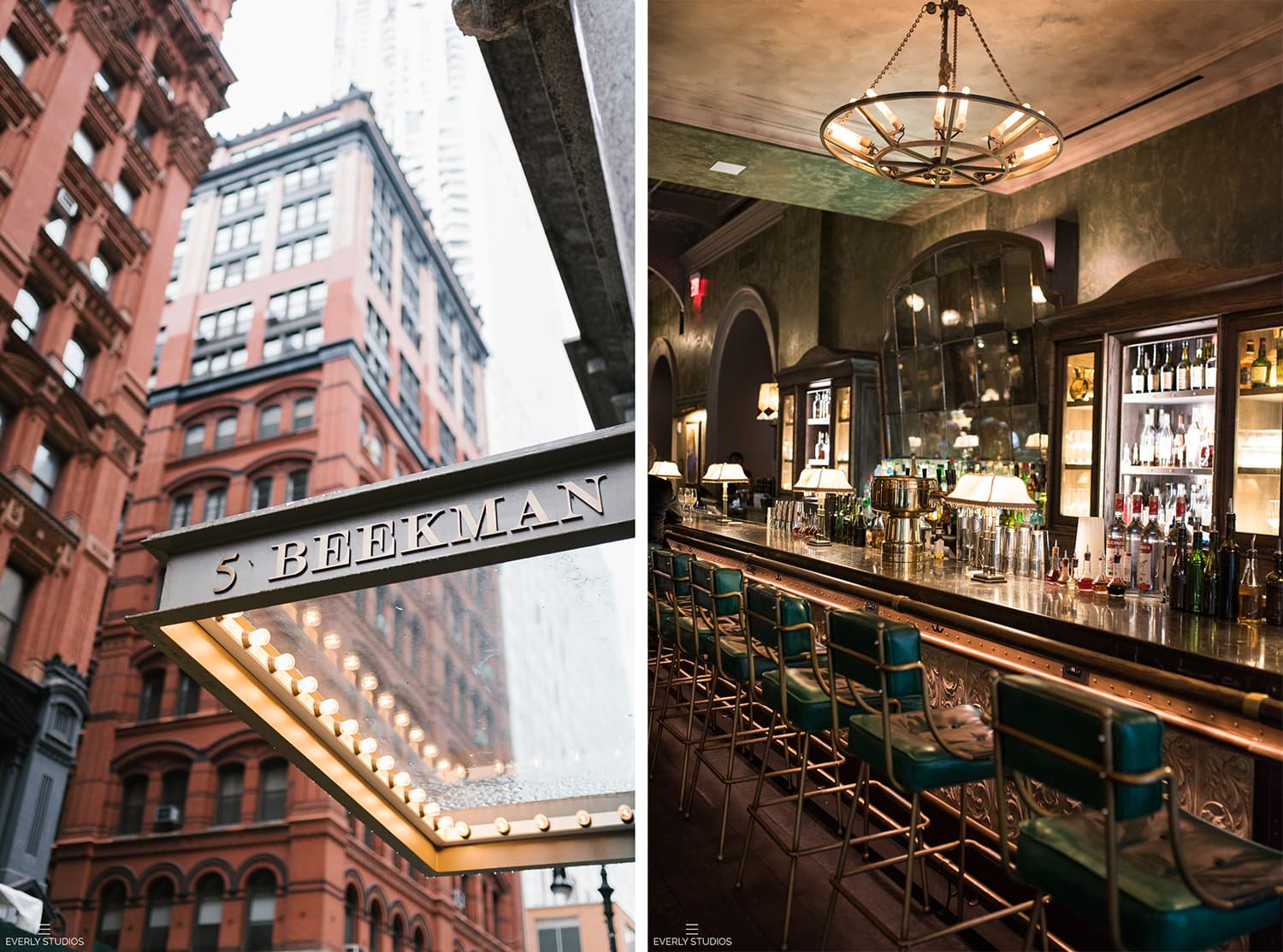 The Beekman Hotel wedding