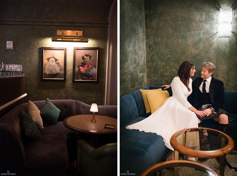 The Beekman Hotel wedding