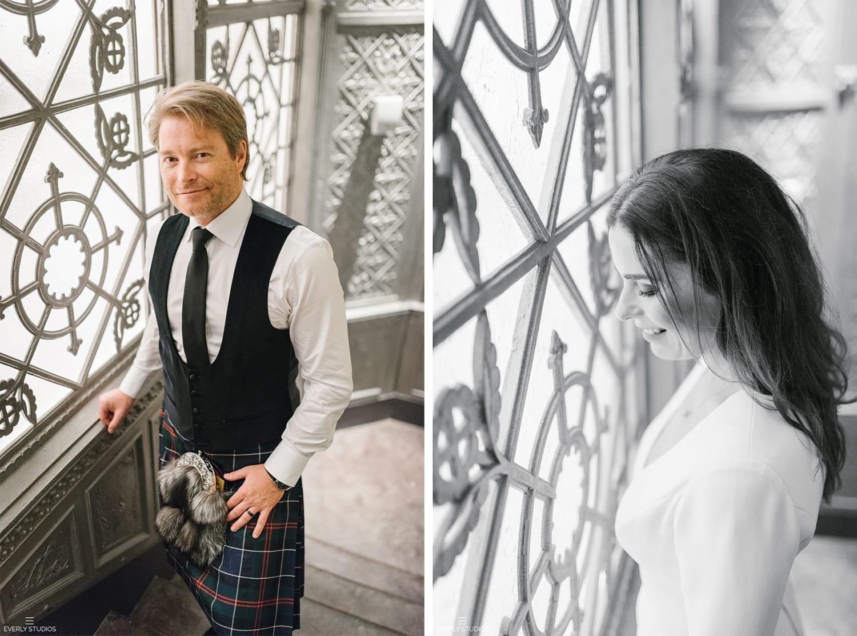 The Beekman Hotel Wedding | Glamorous New York Bridal Session