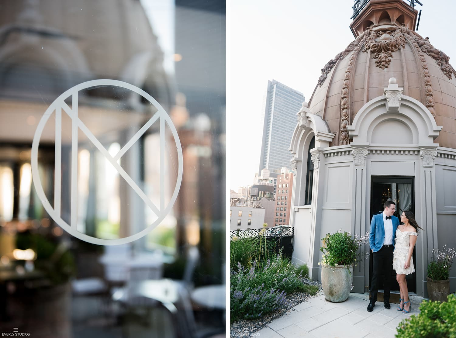 The Nomad Hotel wedding in New York. Photo by Everly Studios, www.everlystudios.com