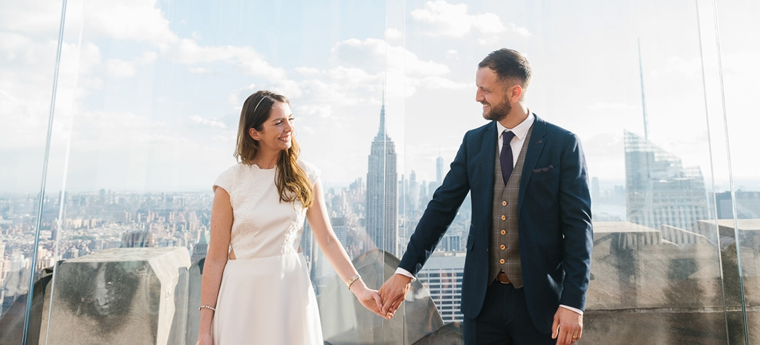 Top of the Rock Wedding in New York City