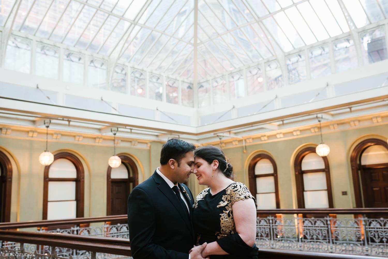 The Beekman Hotel wedding photos. Photos by New York wedding photographer, Everly Studios, www.everlystudios.com