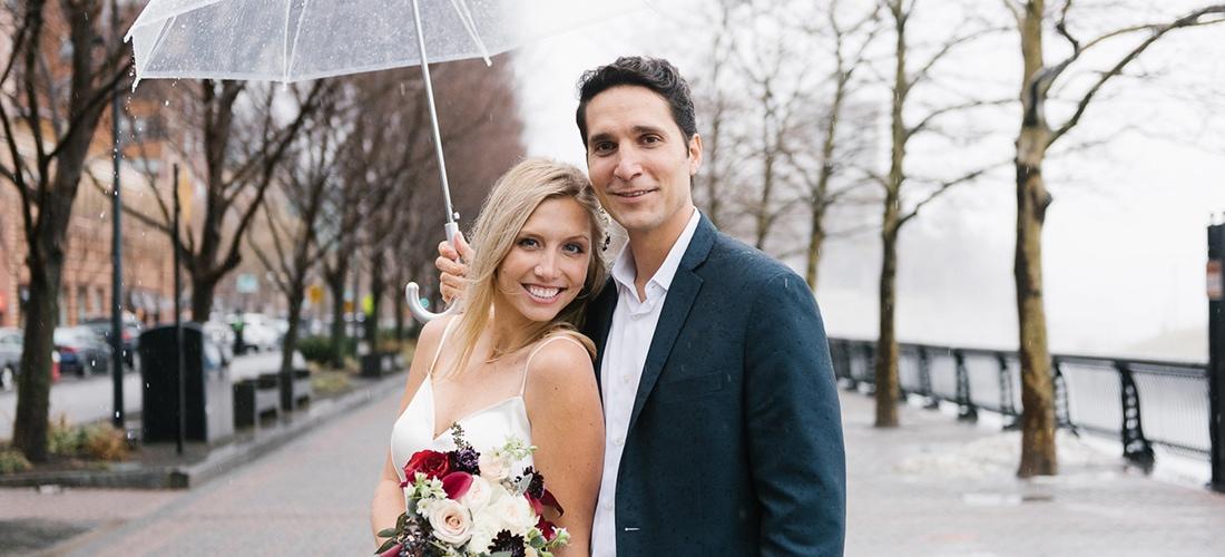 Hoboken Waterfront wedding photos