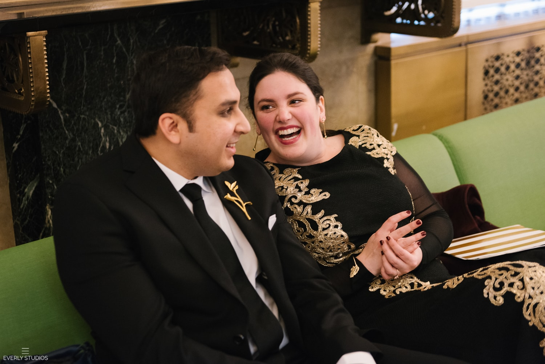 NYC City Hall wedding. Photo by New York wedding photographer, Everly Studios, www.everlystudios.com