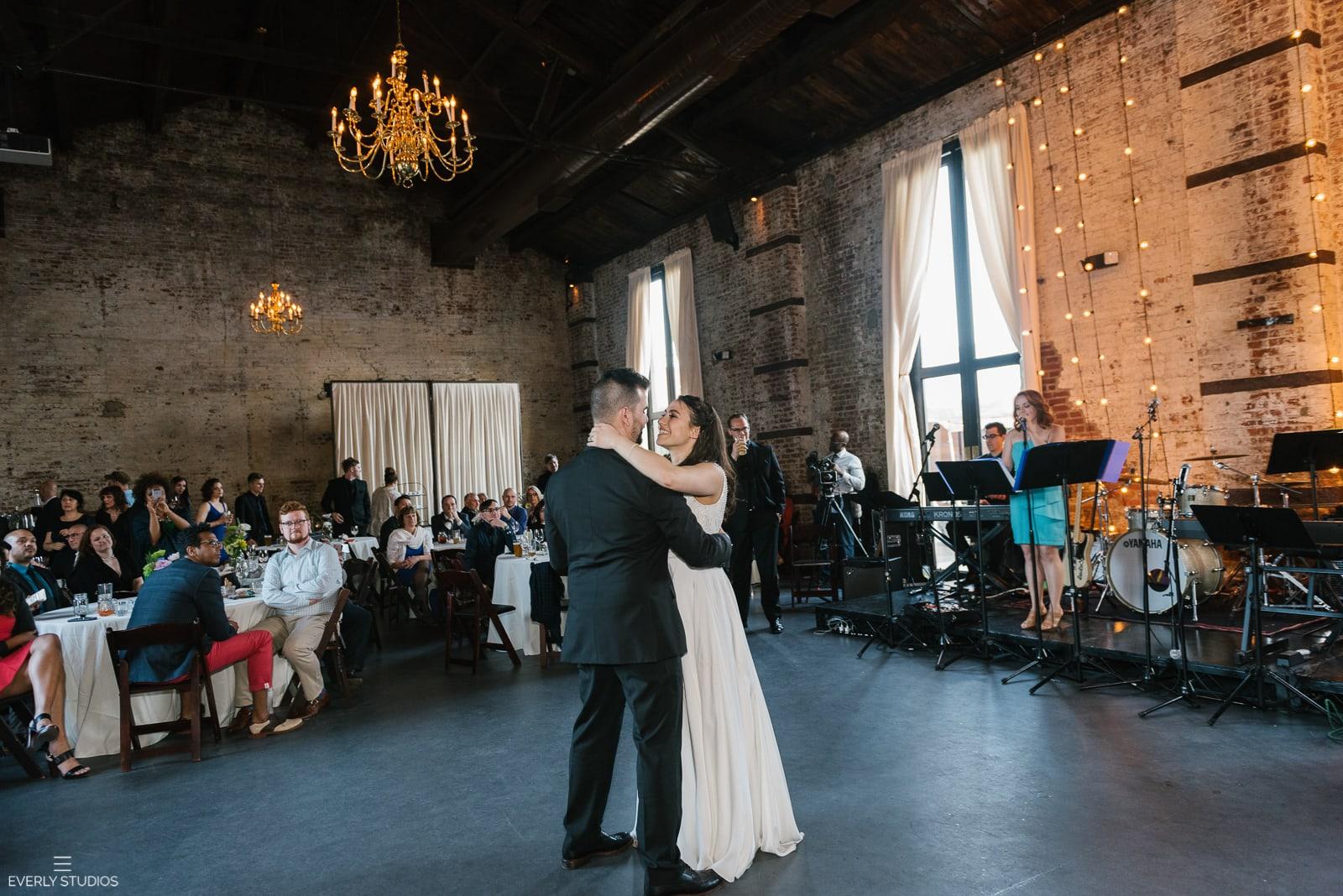 The Green Building wedding in Brooklyn. Photos by Brooklyn wedding photographer Everly Studios, www.everlystudios.com