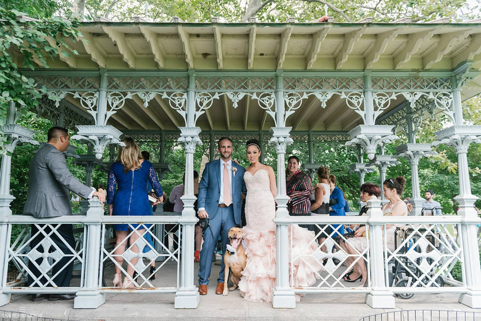 Ladies Pavilion Wedding in Central Park, New York