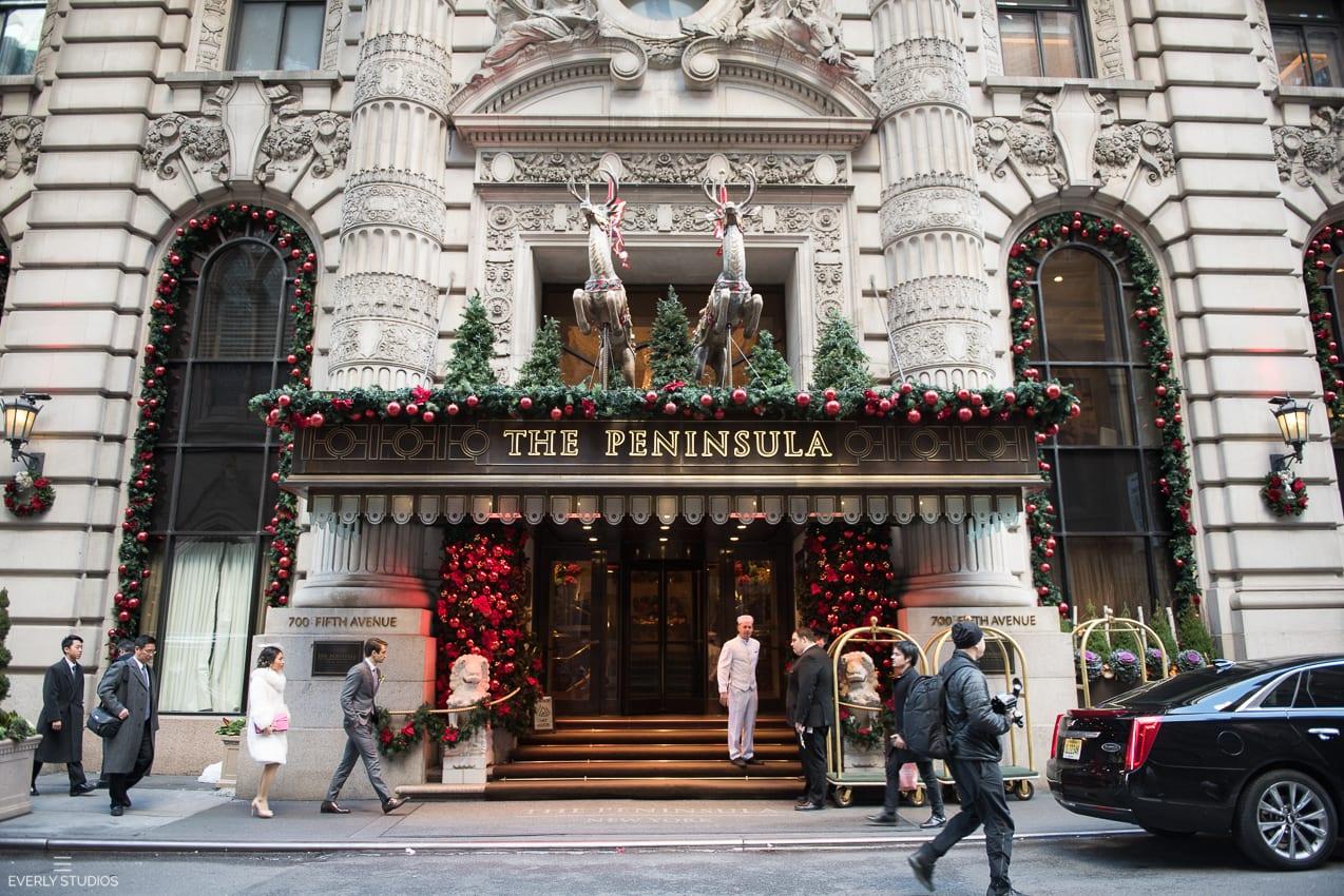 Nyc Wedding Reception Peninsula Hotel 001 New York Wedding