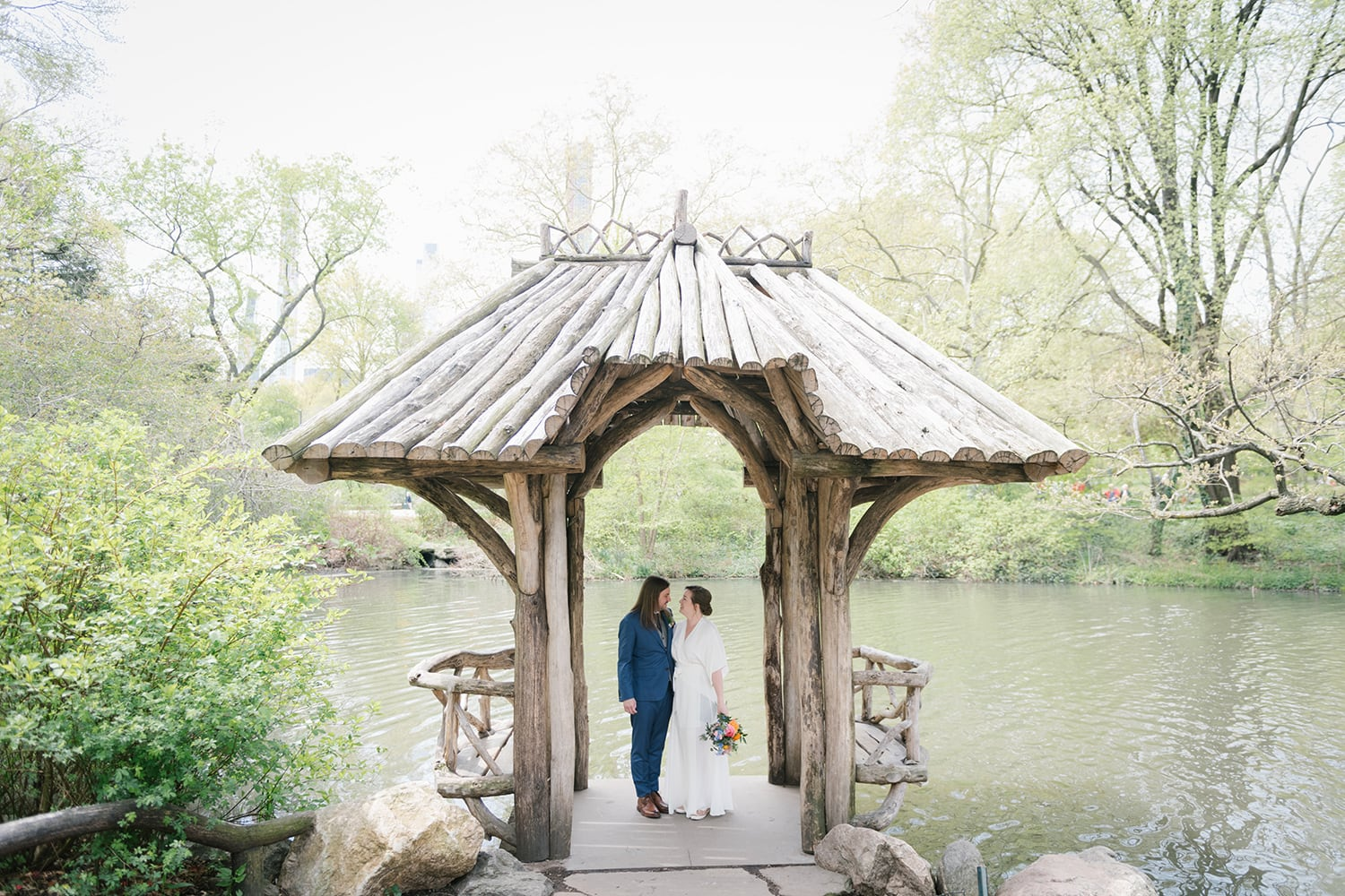 Wagner Cove wedding in Central Park, NYC