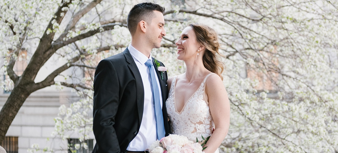 New York Courthouse wedding in Manhattan