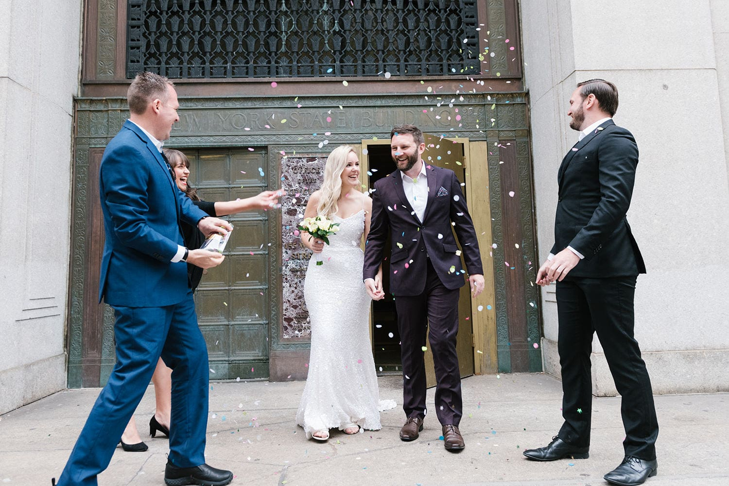 Guide to Getting Married in NYC for Foreigners. How to elope in NYC and get married at City Hall or anywhere in New York.
