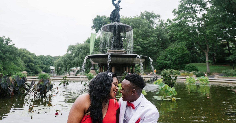 Central Park gay wedding