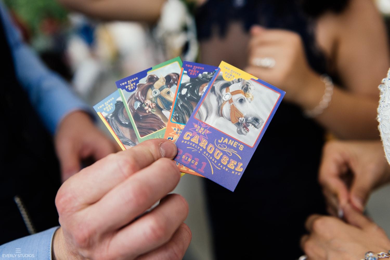 Jane's Carousel wedding photos in Brooklyn. Photos by Brooklyn wedding photographer Everly Studios, www.everlystudios.com