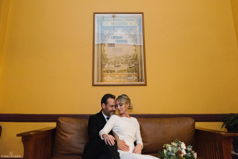 Montauk Club wedding reception in Brooklyn, NYC. Photos by NYC wedding photographer Everly Studios, www.everlystudios.com