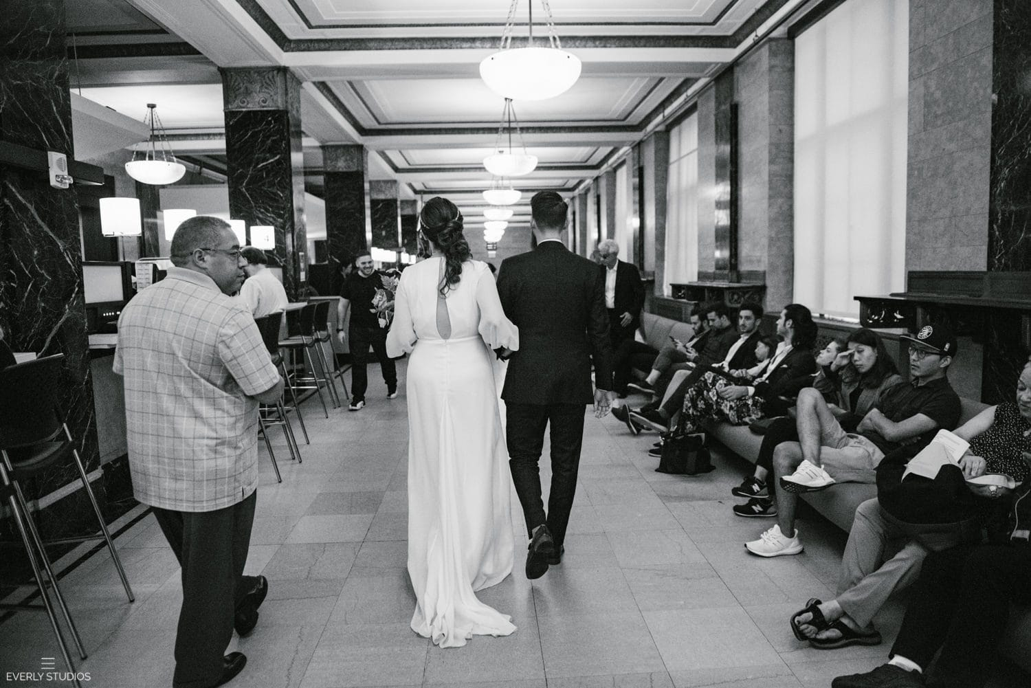 NYC City Hall elopement. Photos by NYC elopement photographer Everly Studios, www.everlystudios.com