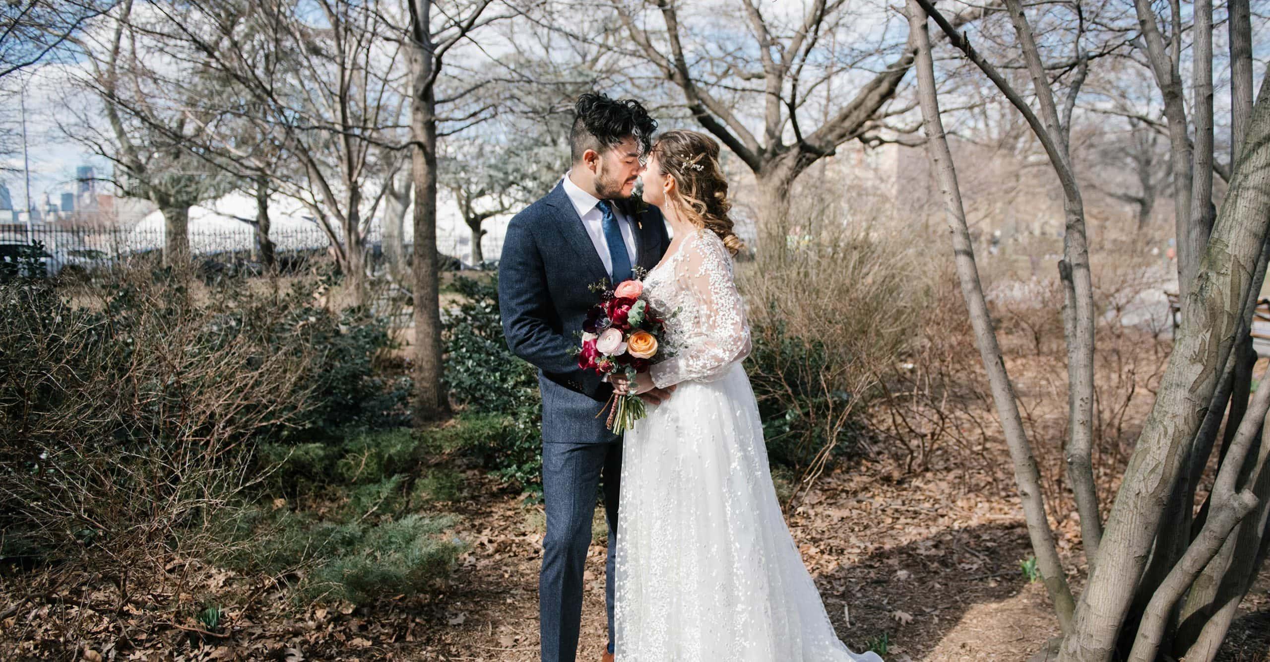 wedding at MyMoon in Brooklyn