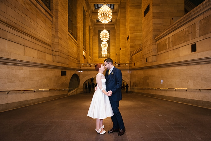 Best indoor photoshoot locations in NYC. Options for rainy day wedding photo locations.