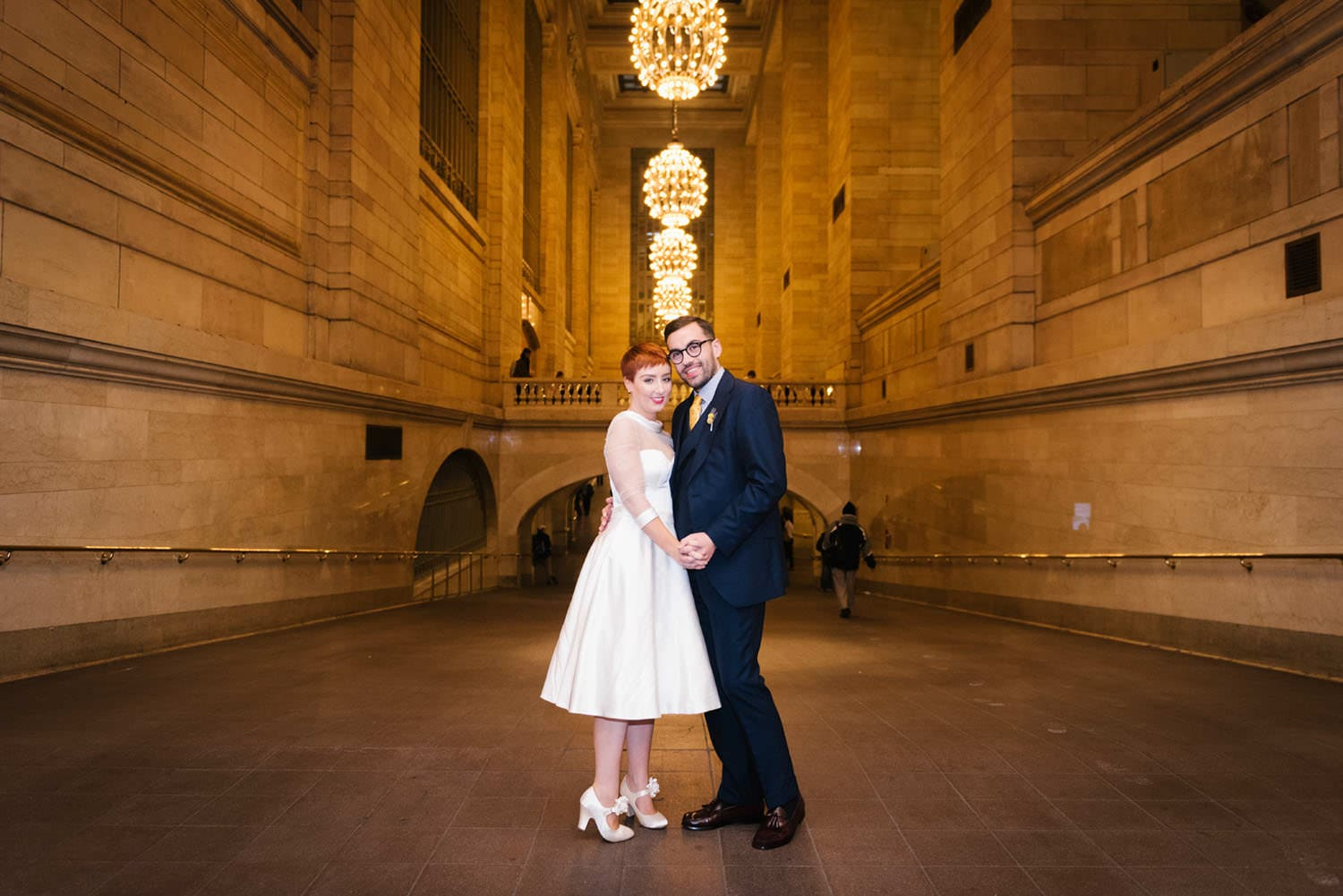 Grand Central wedding photos NYC