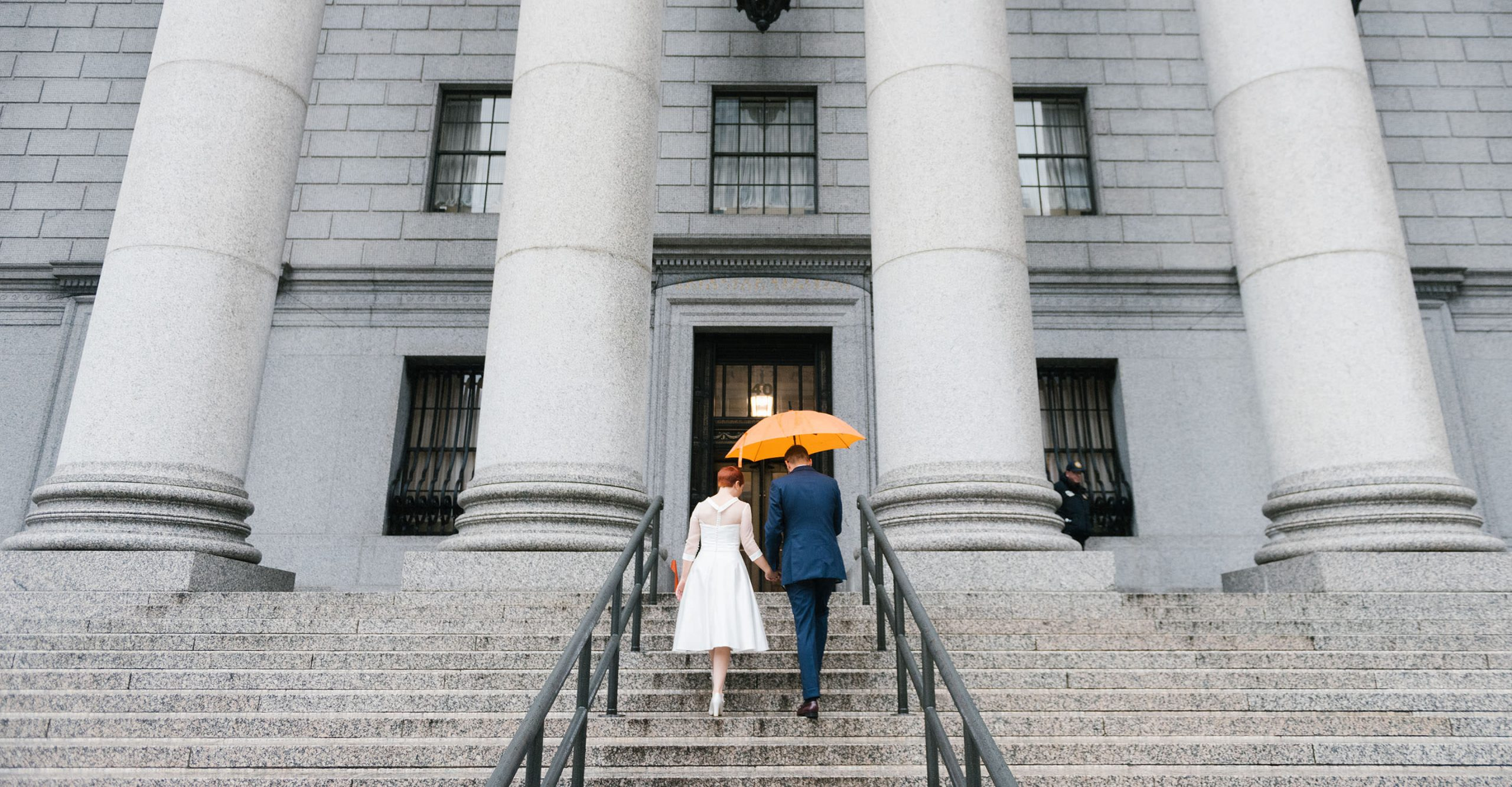Indoor photo location in NYC for a rainy day wedding