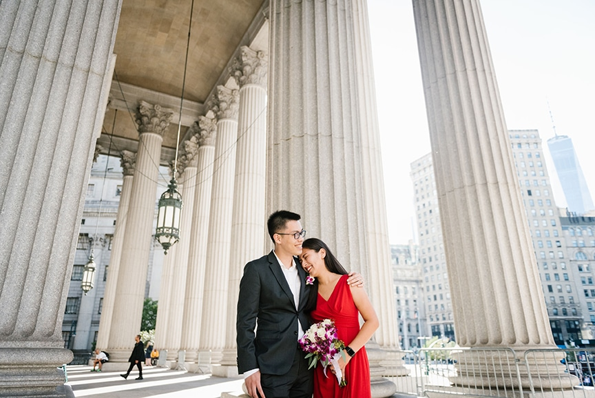 best indoor wedding photoshoot locations in NYC