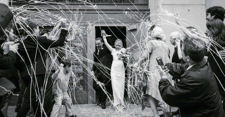 Eco-friendly wedding send-off ideas