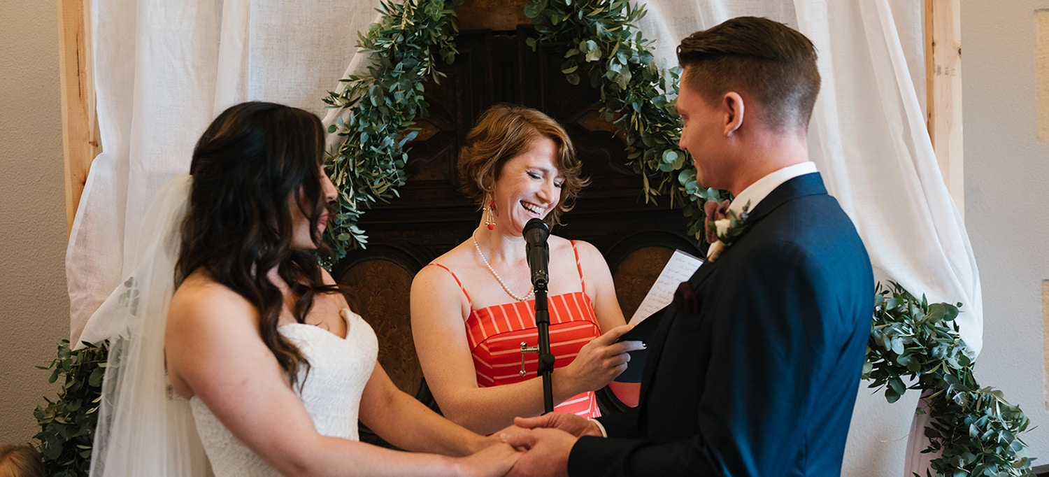 how to officiate a wedding in NYC