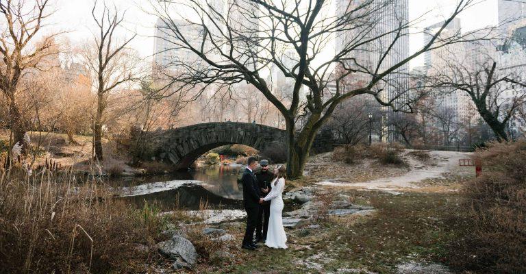 Gapstow Bridge Elopement | Heiraten im Central Park